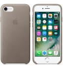 Apple iPhone 8 / 7  Leder Case - Taupe