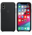 Apple iPhone XS Silikon Case -Schwarz