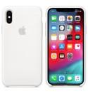 Apple iPhone XS Silikon Case - Weiß
