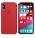 Apple iPhone XS Max Silikon Case - (PRODUCT) RED