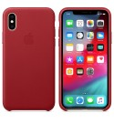 Apple iPhone XS Leder Case - (PRODUCT) RED