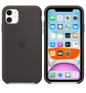 Apple iPhone 11 Silikon Case - Schwarz