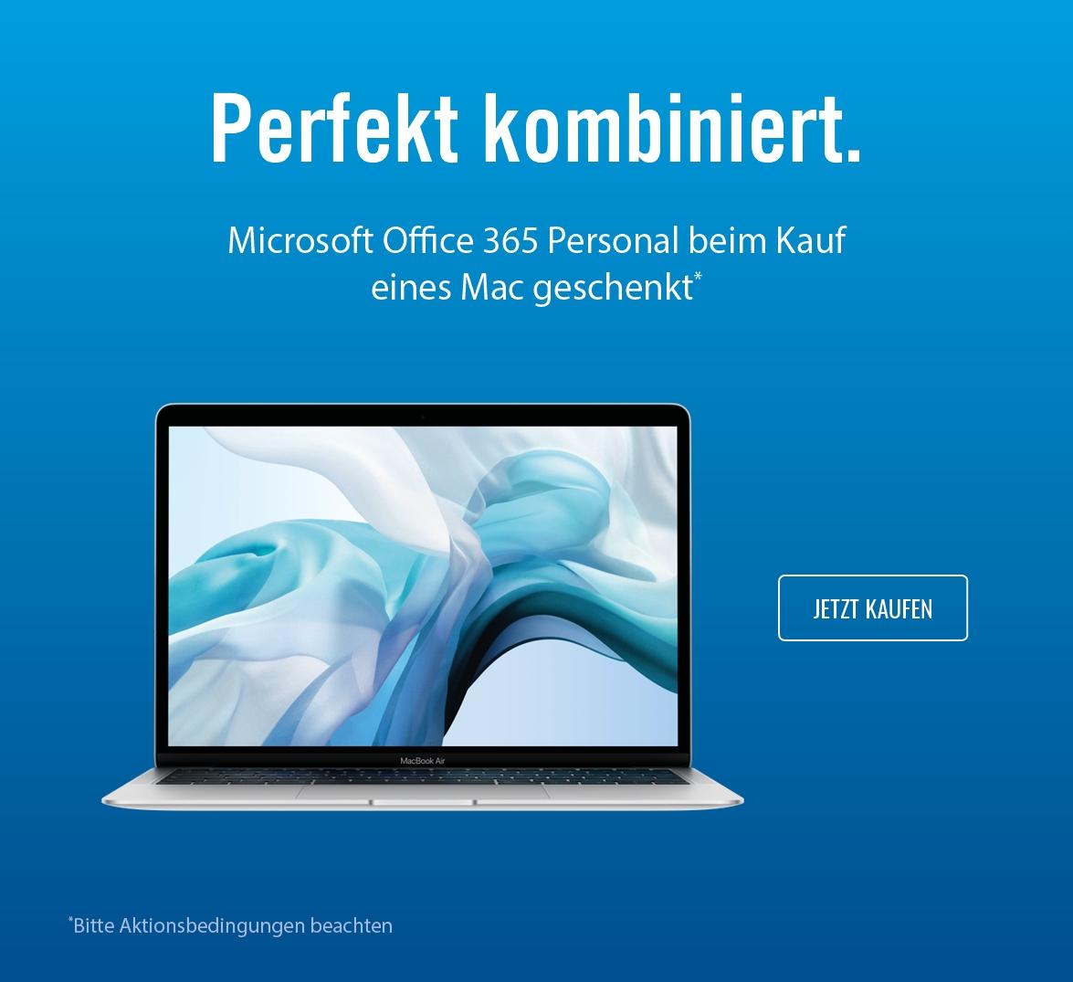 Office gratis zum Mac
