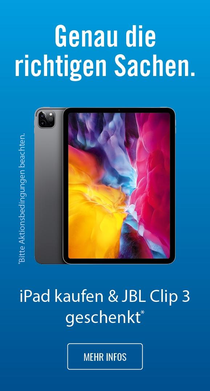iPad JBL Aktion