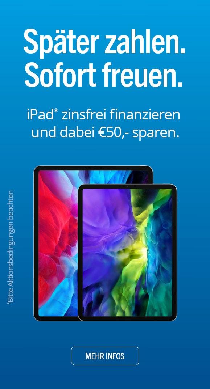 iPad finanzieren und sparen