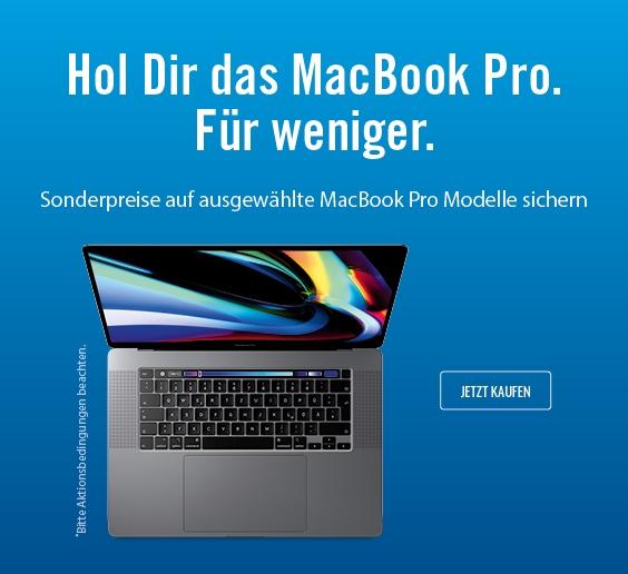 MacBook Pro 16 Zoll Aktion